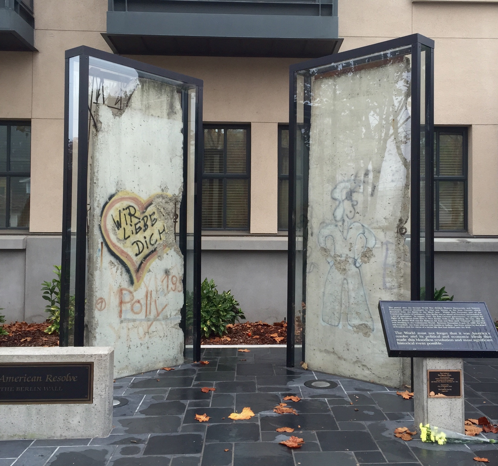 Berlin's Wall Fragments